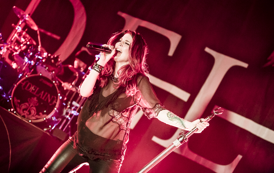 Delain live, 18.04.2014, Frankfurt