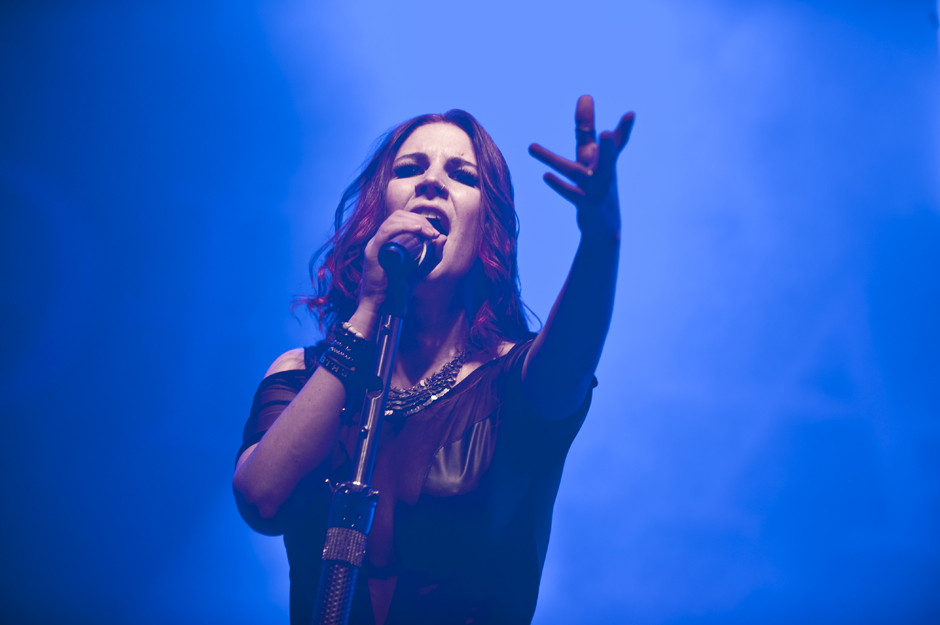 Delain live, Out & Loud Festival 2014 in Geiselwind