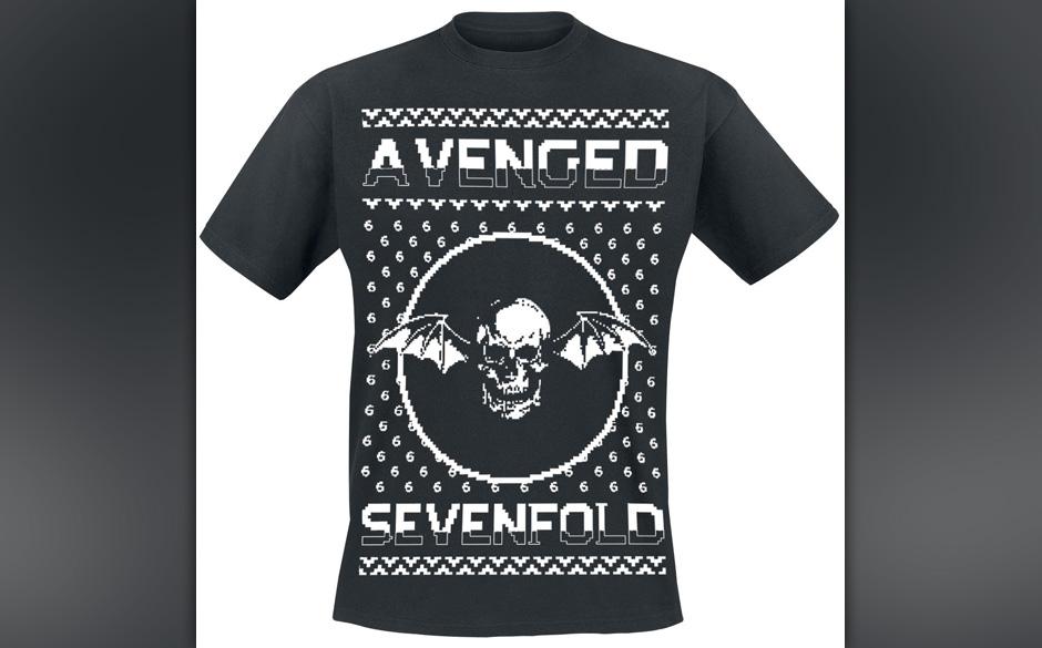 >>>  Avenged Sevenfold Weihnachts-Pulli