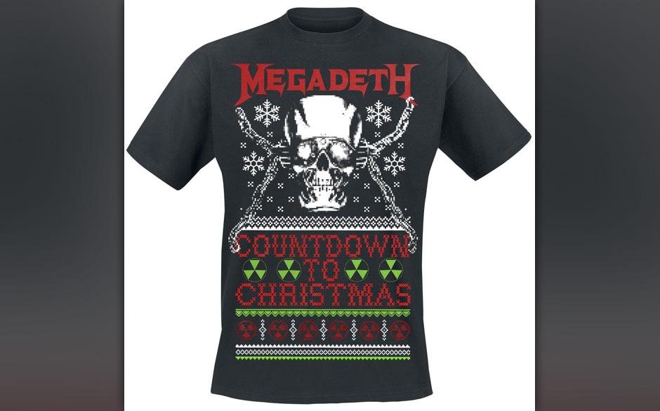 Die metallischsten Weihnachtsgeschenke >>>  Megadeth Weihnachts-T