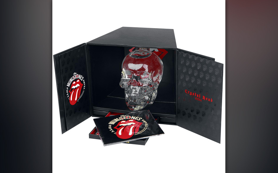 >>>  Rolling Stones CRYSTAL HEAD VODKA