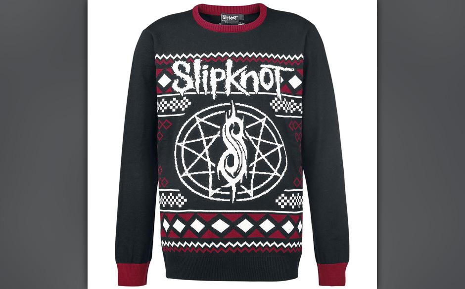 >>>  Slipknot Weihnachts-Pulli