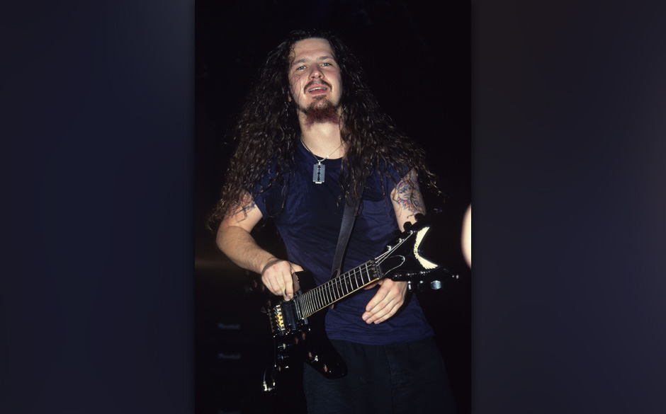 Pantera's Dimebag aka Darrell Abbott or earlier in his career he was know as Diamond Darrell. (Photo by Fred Duval/FilmMagic)