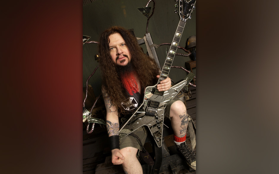 (EXCLUSIVE, Premium Rates Apply) Darrell 'Dimebag' Abbott (Photo by Annamaria DiSanto/WireImage)