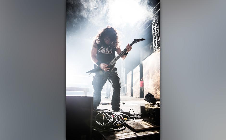 Kreator live, 06.12.2014, Oberhausen