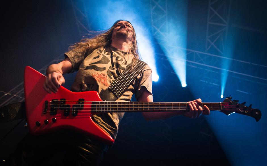 Sodom live, 06.12.2014, Oberhausen
