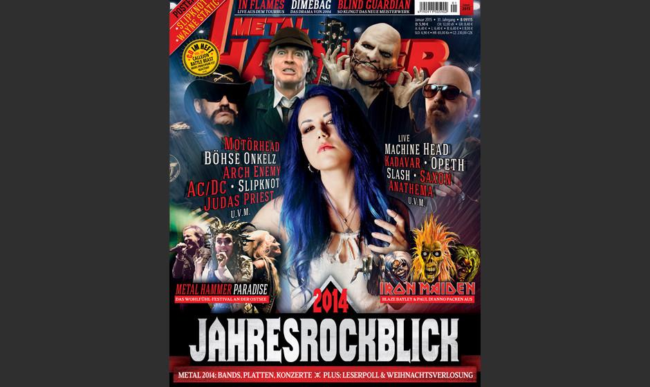 METAL HAMMER-Ausgabe 01/2015