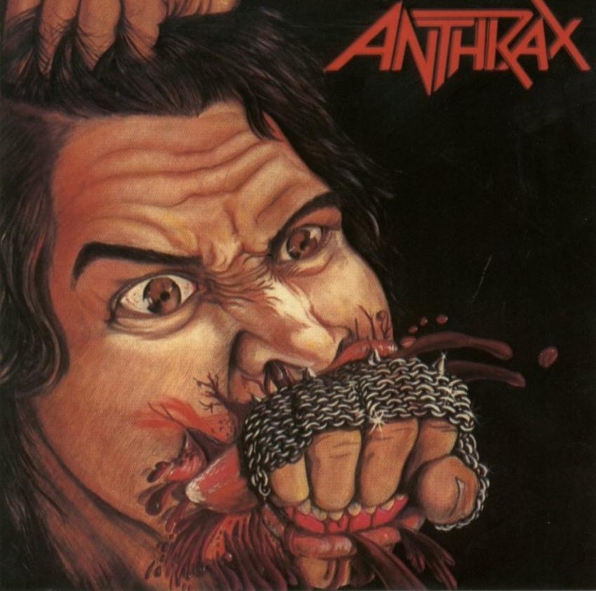 Als die US-amerikanischen Fun-Thrasher von Anthrax anfingen, Musik zu machen, musste Metal 'mitten ins Maul' rein. Die visuel