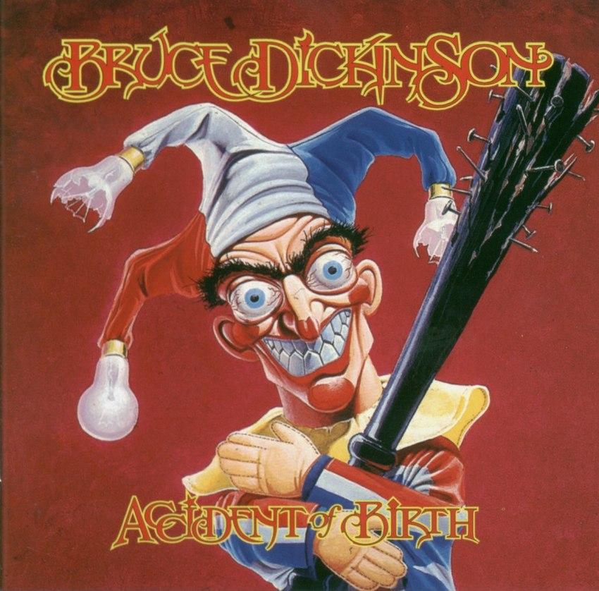 Als sich Coverdesigner Derek Riggs 1997 das Motiv zum Album 'Accident of Birth' des Iron-Maiden-Sängers Bruce Dickinson ausd