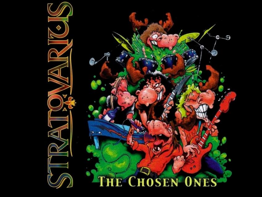 Das Cover der Stratovarius-Compilation 'The Chosen Ones' aus dem Jahre 1999 jedenfalls legt das nahe. Warum sonst sollten sic