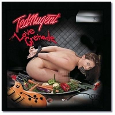 Spiegel-Fotostrecke 'Peinliche Plattencover' Ted Nugent LOVE GRENADE