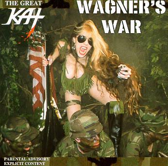 Spiegel-Fotostrecke 'Peinliche Plattencover' The Great Kat WAGNER'S WAR