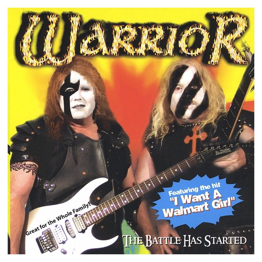 Dass die eher unbekannte christliche Metal-Band Warrior nicht von der viel bekannteren, aber nicht ganz so christlichen Metal
