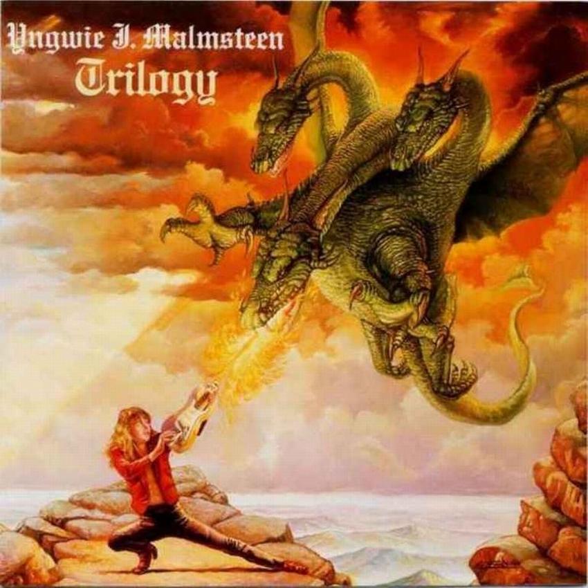Der schwedische Metalgitarrist Yngwie Johann Malmsteen kann auf seiner Gitarre nicht nur in atemberaubender Geschwindigkeit M