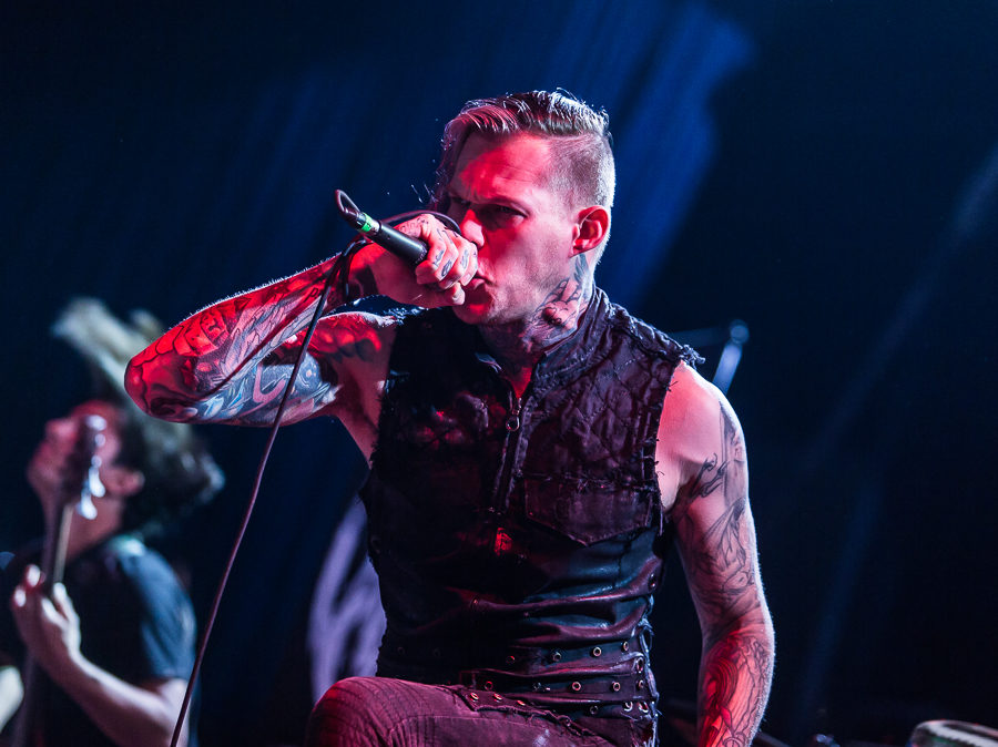 Carnifex live, 03.12. Offenbach: Stadthalle