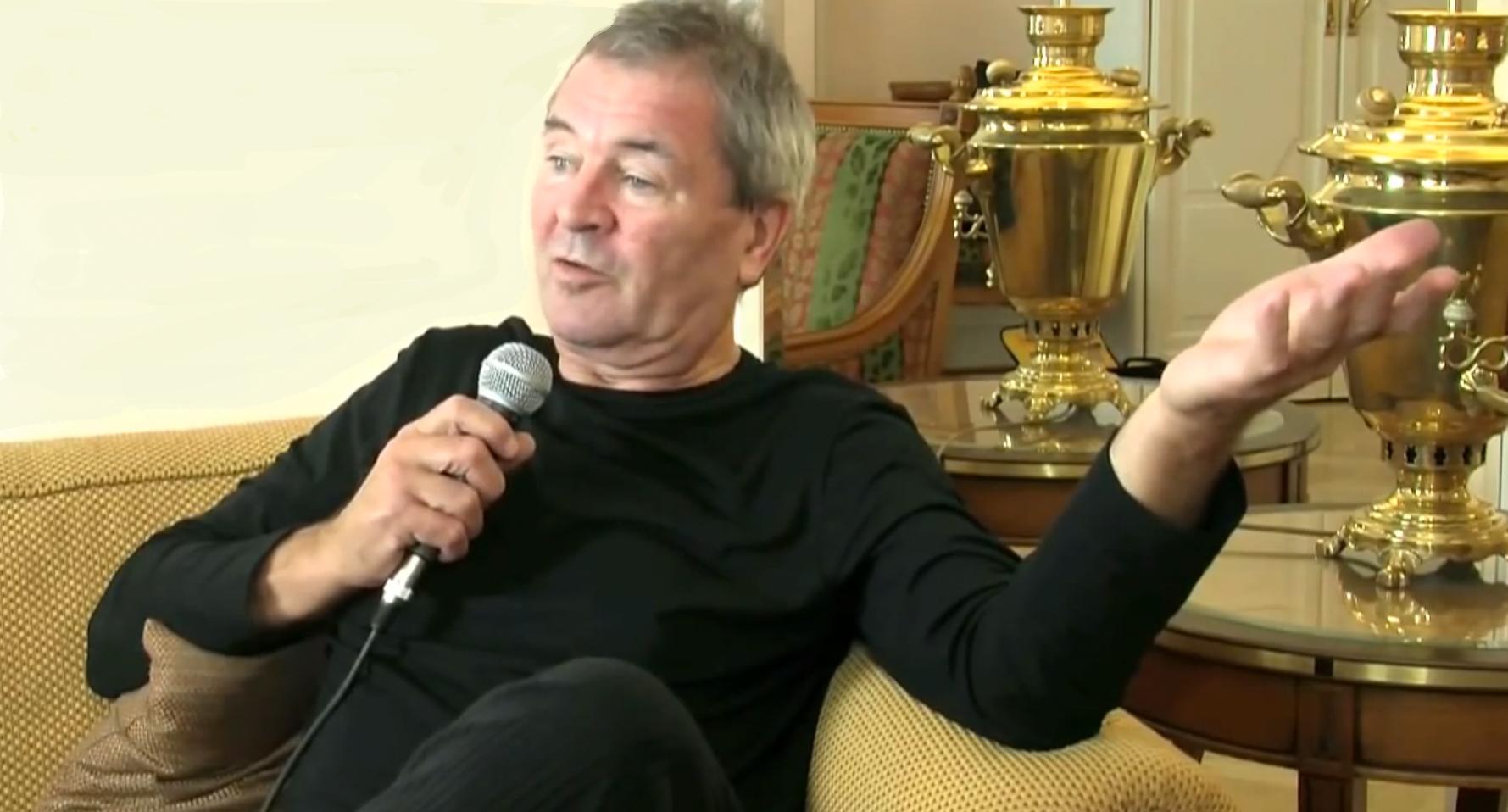 Ian Gillan (Deep Purple) sieht es gelassen