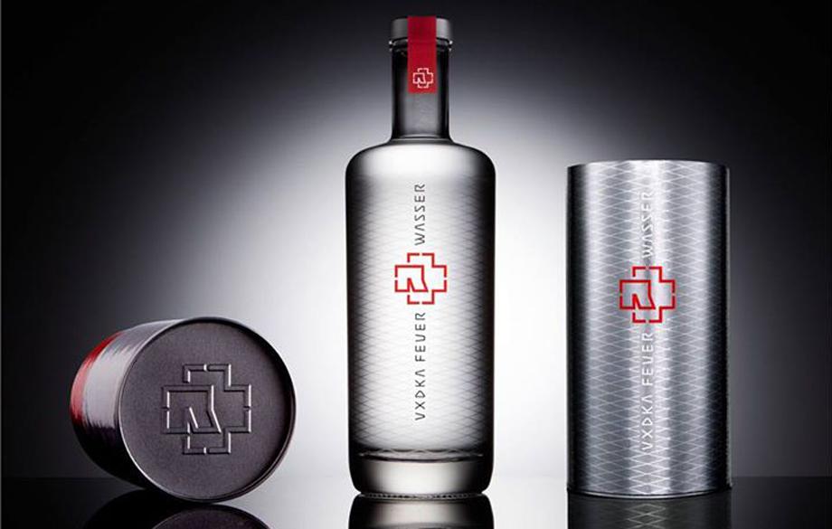 Rammstein-Wodka 'Feuer & Wasser'