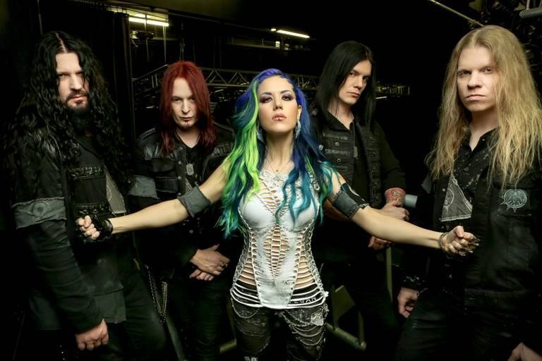 Arch Enemy 2014 mit Jeff Loomis