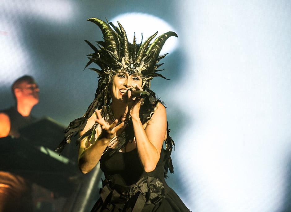 Within Temptation live, M'era Luna Festival 2014