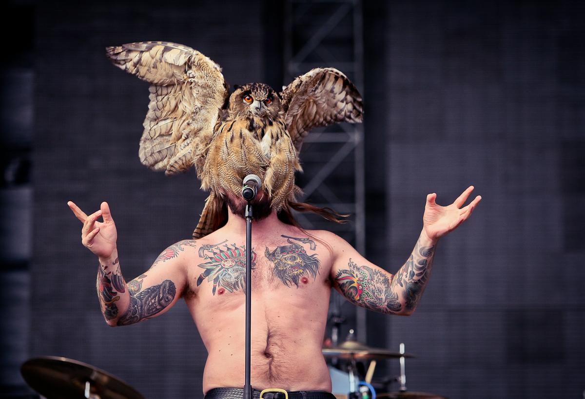 Kvelertak live, 09.07.2014, Wien