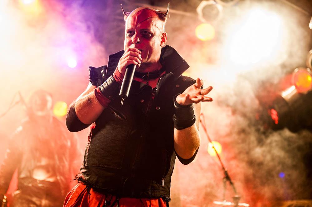 Tanzwut, 10.10.2014, Bochum: Matrix