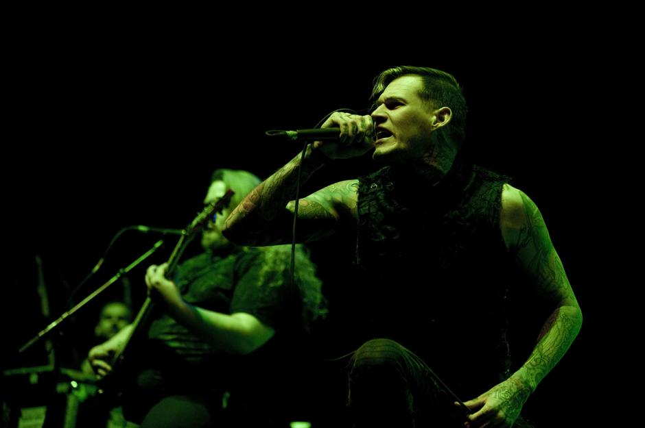 Carnifex live, 21.12.2014, Hamburg