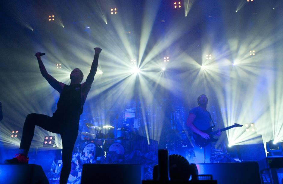 Parkway Drive live, 21.12.2014, Hamburg
