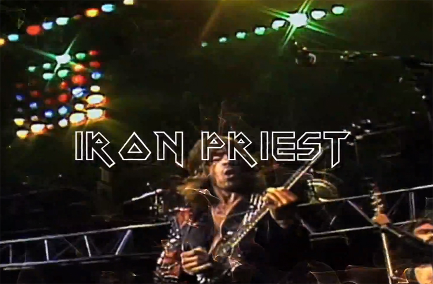 Mashup 'Iron Priest - Riding The Powerslave'