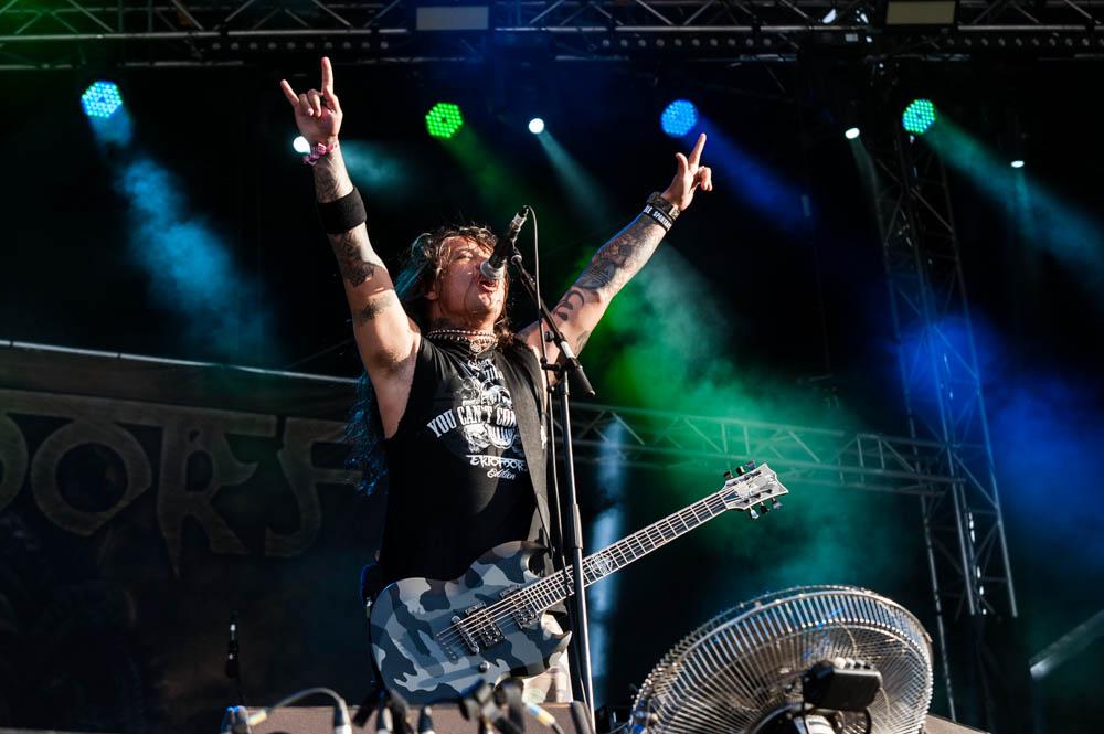 Ektomorf live, Rock Harz Festival 2014