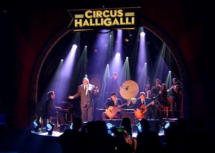 Die Kassierer bei 'Circus Halligalli'