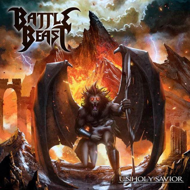Die neuen Metal-Alben im Januar 2015 - Battle Beast UNHOLY SAVIOR