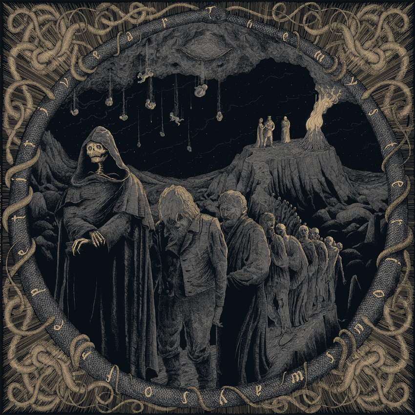 Die neuen Metal-Alben im Januar 2015 - Chapel Of Disease THE MYSTERIOUS WAYS OF REPETITIVE ART