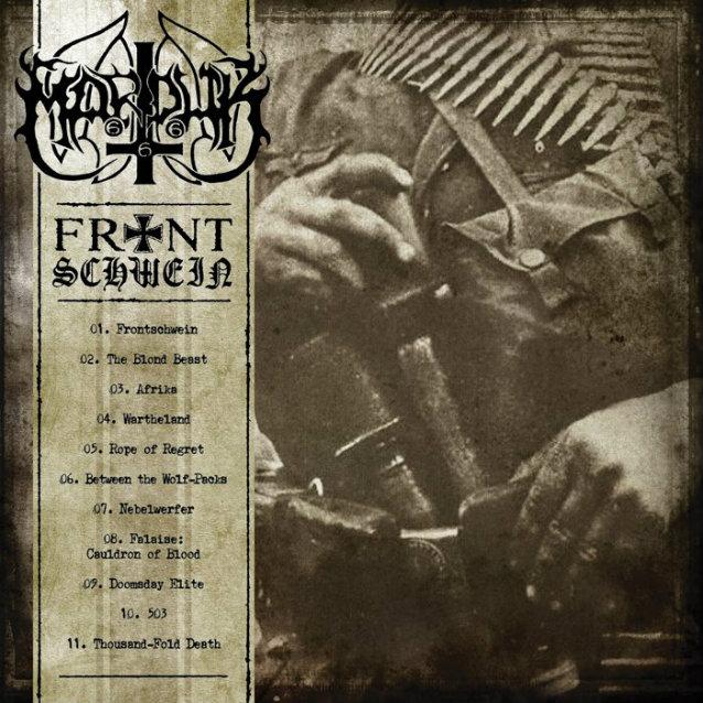 Die neuen Metal-Alben im Januar 2015 - Marduk FRONTSCHWEIN