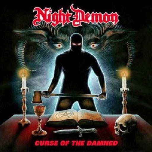 Die neuen Metal-Alben im Januar 2015 - Night Demon CURSE OF THE DAMNED