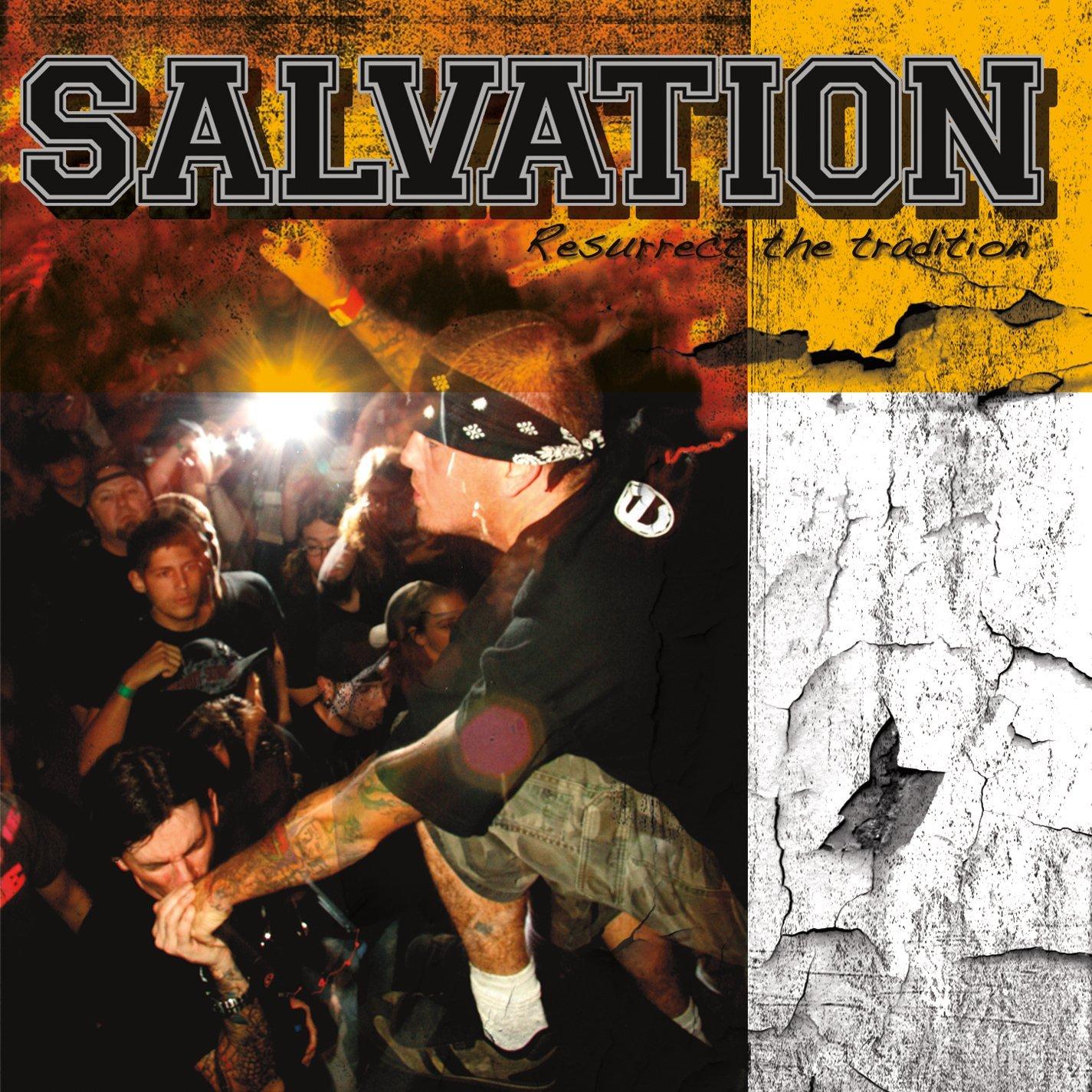 Die neuen Metal-Alben im Januar 2015 - Salvation RESURRECT THE TRADITION