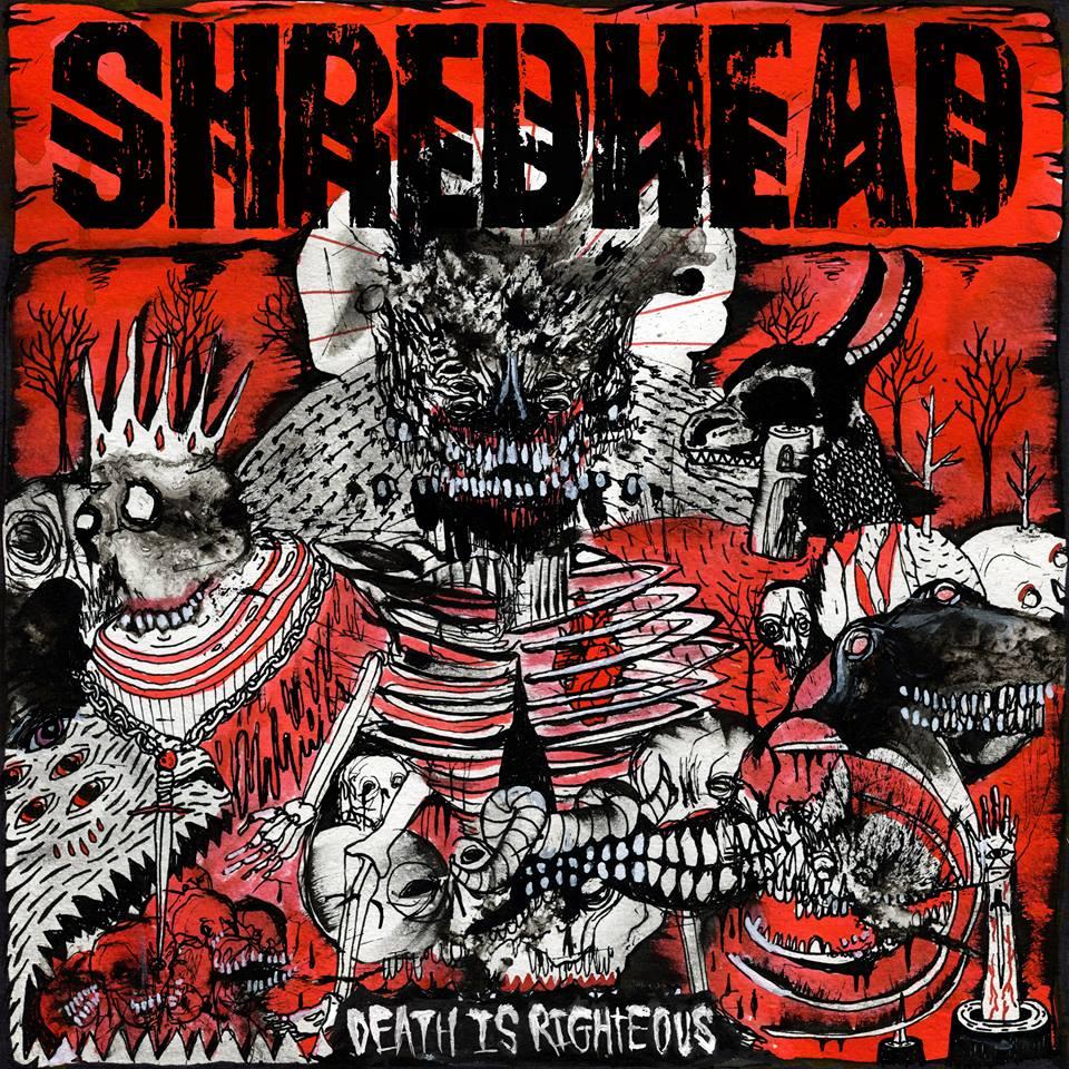 Die neuen Metal-Alben im Januar 2015 - Shredhead DEATH IS RIGHTOUS