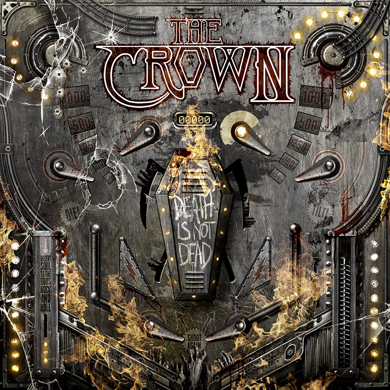 Die neuen Metal-Alben im Januar 2015 - The Crown DEATH IS NOT DEAD