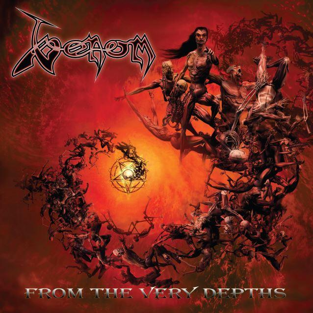 Die neuen Metal-Alben im Januar 2015 - Venom FROMN THE VERY DEPTHS