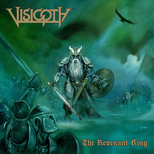 Die neuen Metal-Alben im Januar 2015 - Visigoth THE REVENANT KING