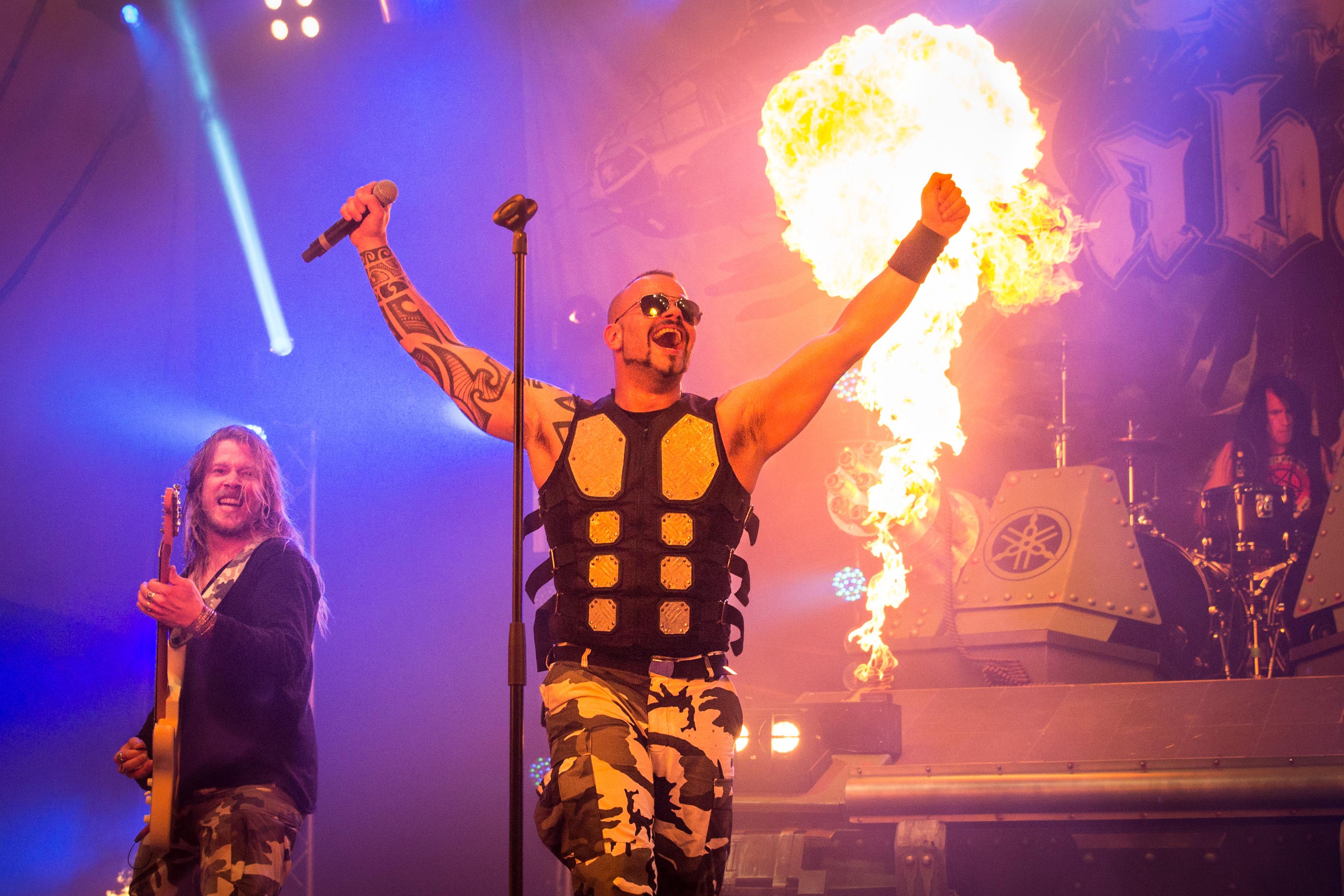 Sabaton live, Metalfest 2014