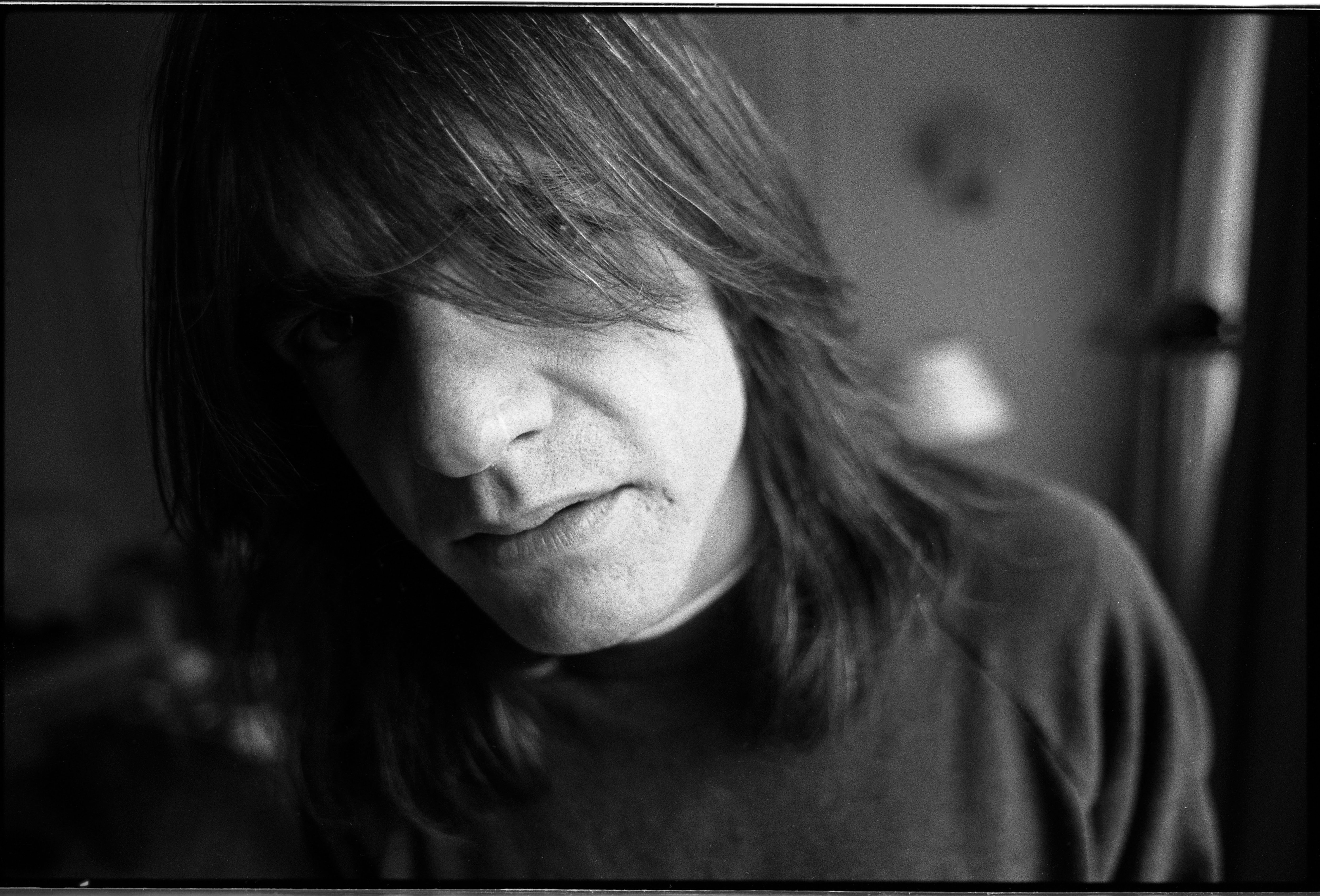 Malcolm Young of AC/DC, portrait, Germany, 1995. (Photo by Martyn Goodacre/Getty Images)