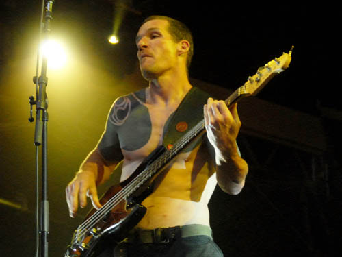 Rage Against The Machine-Bassist Tim Commerford