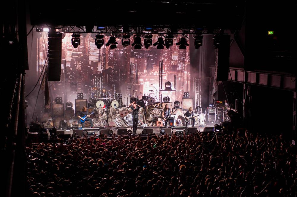 Heaven Shall Burn live, 19.12.2014, Köln