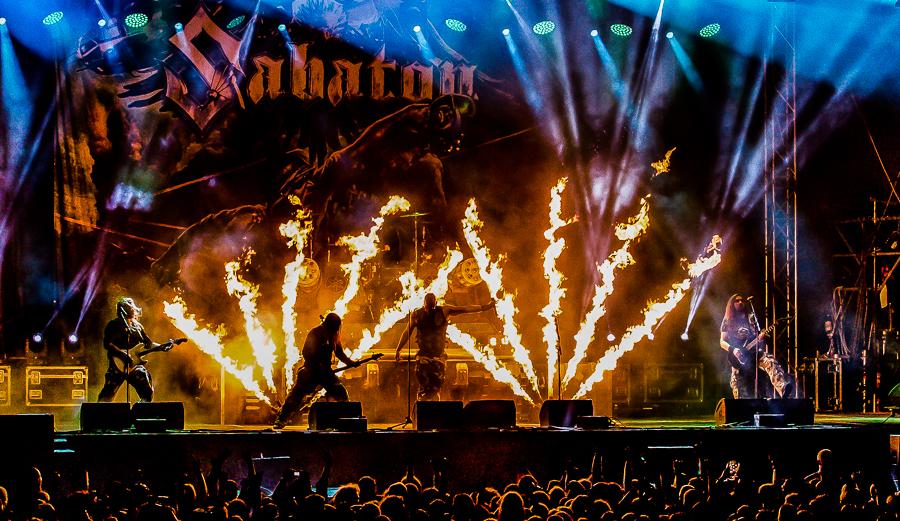 Sabaton live, Rock Harz Festival 2014