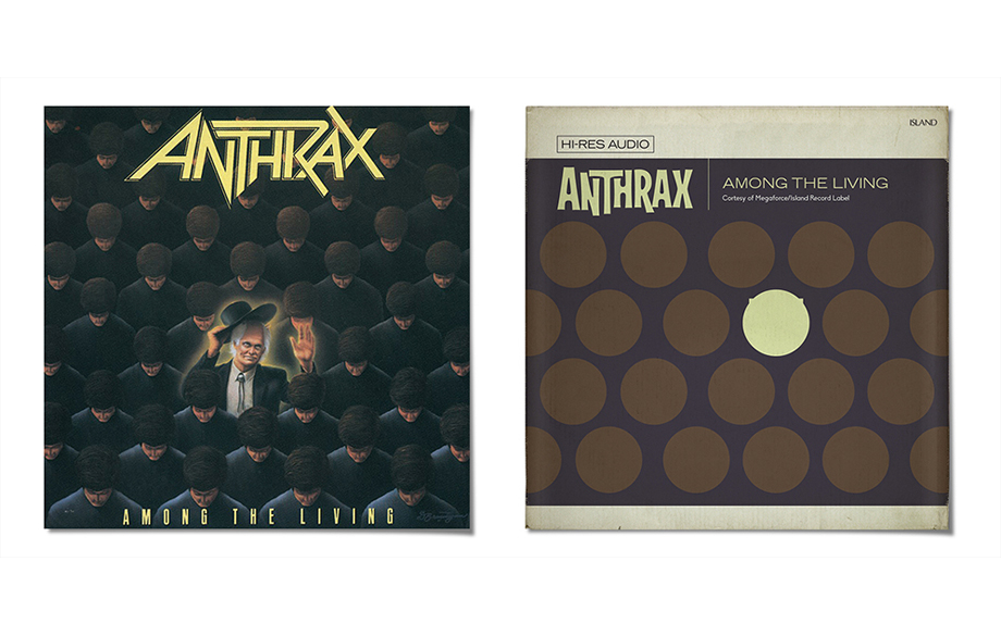 Retro Cover: Anthrax AMONG THE LIVING