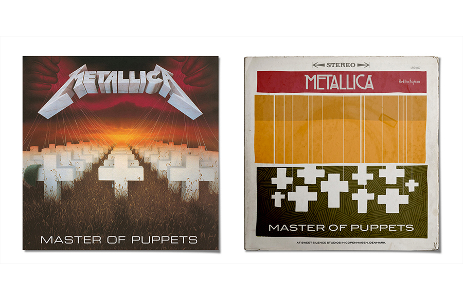 Retro Cover: Metallica MASTER OF PUPPETS