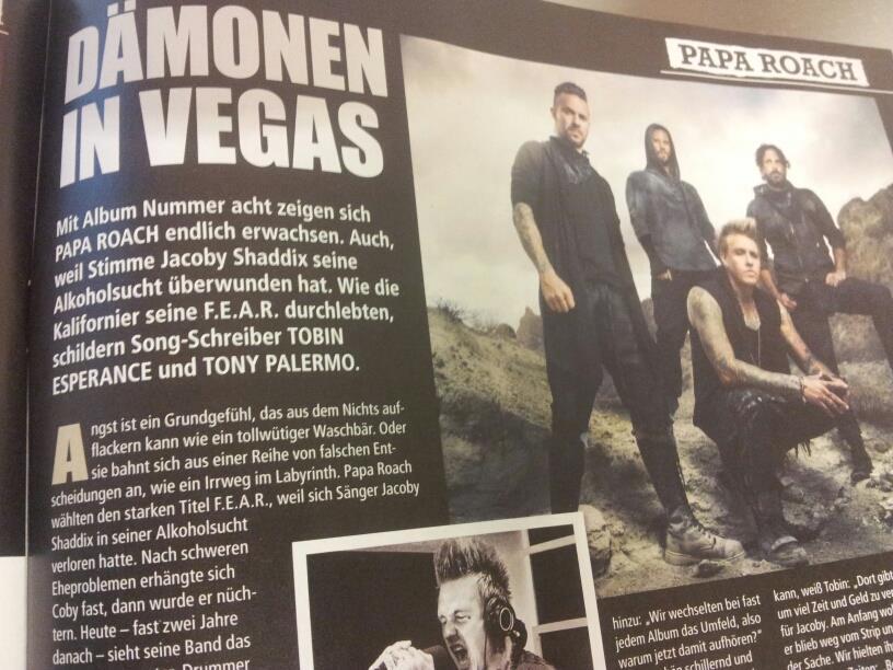 In der Galerie verraten wir euch Song für Song, wie das neue Papa Roach-Album klingt >>>
