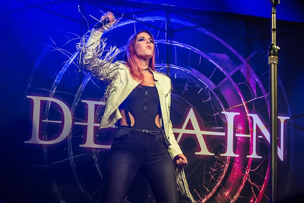 Delain live, 10.01.2015, Geiselwind