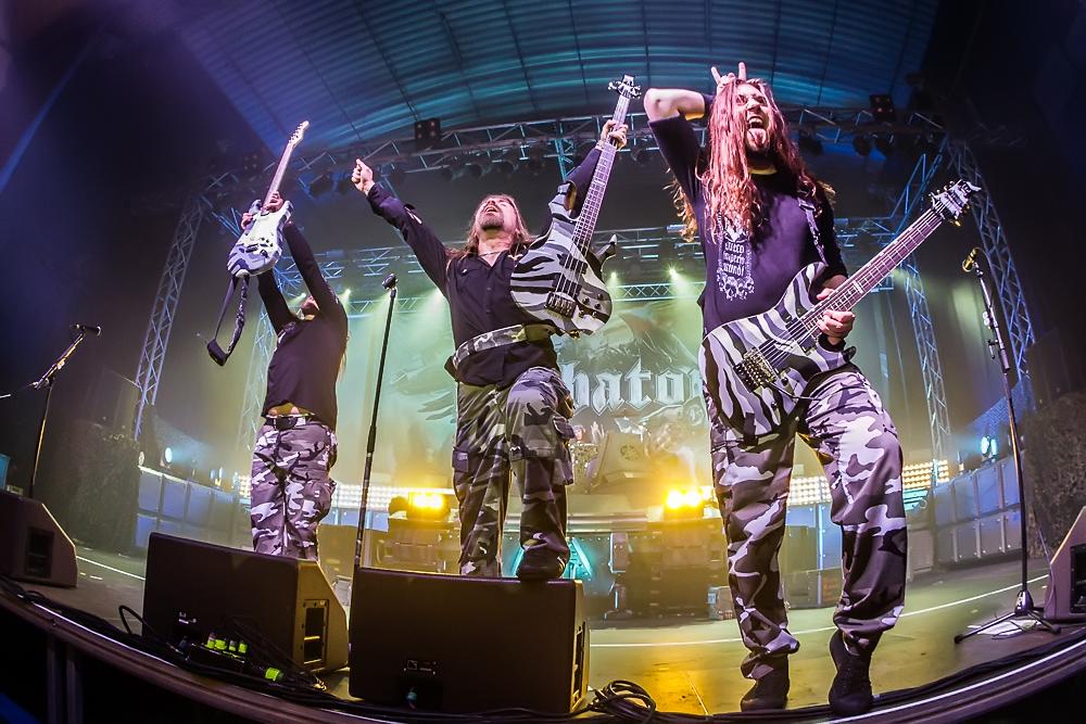 Sabaton live, 10.01.2015, Geiselwind