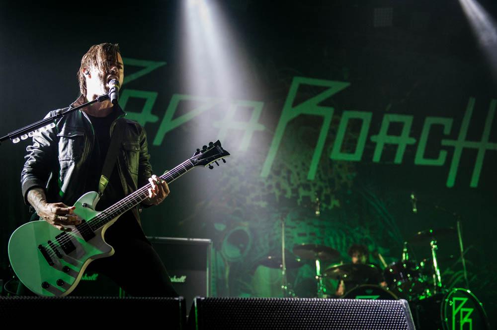 Papa Roach, live, 01.11.2014, Bochum